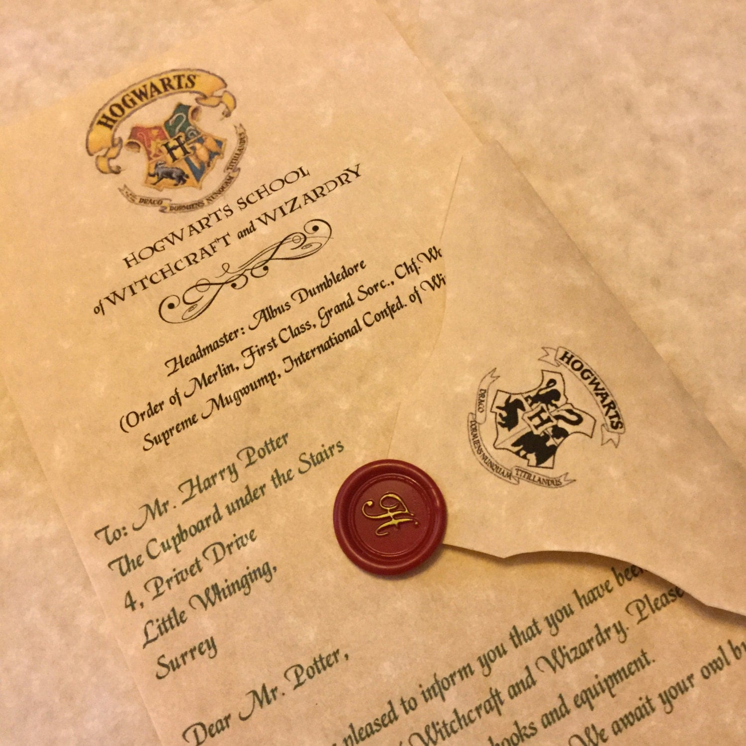 personalized hogwarts acceptance letter personalized harry 128270zoom