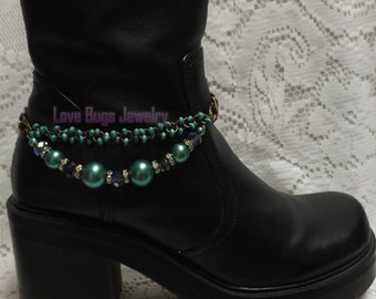 Just For You Boot Jewelry, Boot Bracelet, Boot Bling, Boot Jewelry, Cowgirl Boot Bling, Boot Band Bracelet