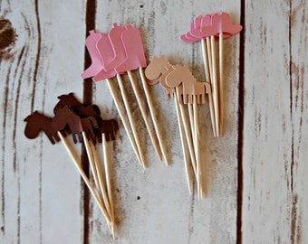 Cowgirl Party Picks (Set of 24)