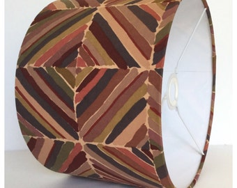 Lampshade Lightshade Vintage Liberty Kasak Fabric Collier Campbell 1970s