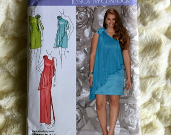 Simplicity Fashion Misses Special occassion dress #1657 Sewing Pattern UC FF size 18-20-22-24-26