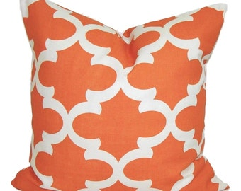 FALL PILLOWS SALE. Pillow Cover, Cushion Cover. Orange Decorative Pillow, Orange Throw Pillow, Accent Pillow, Pillow Covers, Orange Cushion