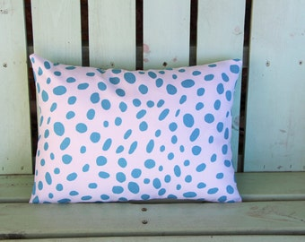 New 12x16 white, blue Togo Spots premier prints pillow cover-accent pillow- decorative pillow cover-gifts under 40-throw pillow