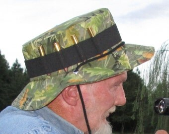 Reserved for Allen - Rifle Bullet Camo Hunting Booney Hat