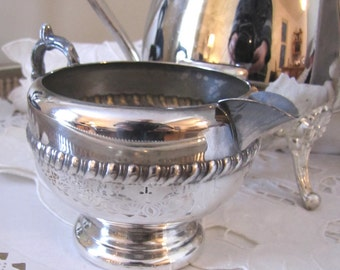 Elegant Viking Creamer Silverplate Hollowware Excellent Condition  Made In Canada