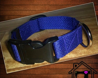 Adjustable Quick Release Flat Dog Collar