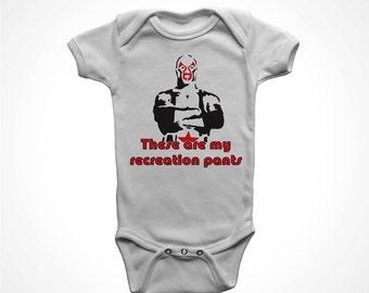 lucha libre one piece funny baby t-shirt jumpsuit movie parody wrestler humor bodysuit newborn humor boys girls nacho recreation pants 6 12