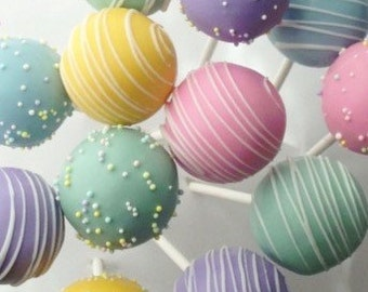 Gluten Free Birthday Cake Pops Or Cake Balls & All Occasions 24 cake pops