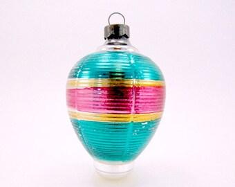 Vintage Glass Gifu Lantern Christmas Ornament Holiday Decoration Bauble