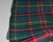 Baby Kilt, 0-6m, Macintosh Hunting Ancient Tartan Baby Kilt, 100% 10oz pure new wool. Handmade in Scotland.