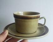 Vintage Stavangerflint Cup and Saucer Ceramics Ceramic Vintage pottery