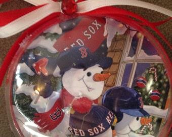 Boston Red Sox  snowmen