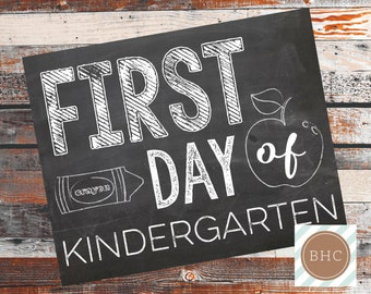 First Day of School. First Day of School Sign. Back to School Sign. First Day of 1st grade, 2nd grade, 3rd grade, 4th grade & 5th grade