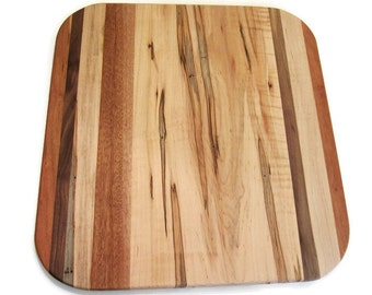 Wood Cutting Board, Rectangle Board, Cutting Board, Rustic Cutting Board, Chopping Board, Maple Chopping Board