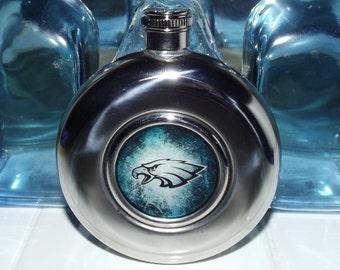 Philadelphia Eagles Inspired Flask