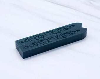 Dark green Sealing Wax in Forest Green (Color X) - Stamp Wax, Seal Wax - Standard or Glue Gun Use