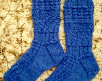 Hand Knit Wool Socks - Opal Sock Yarn (S-191))