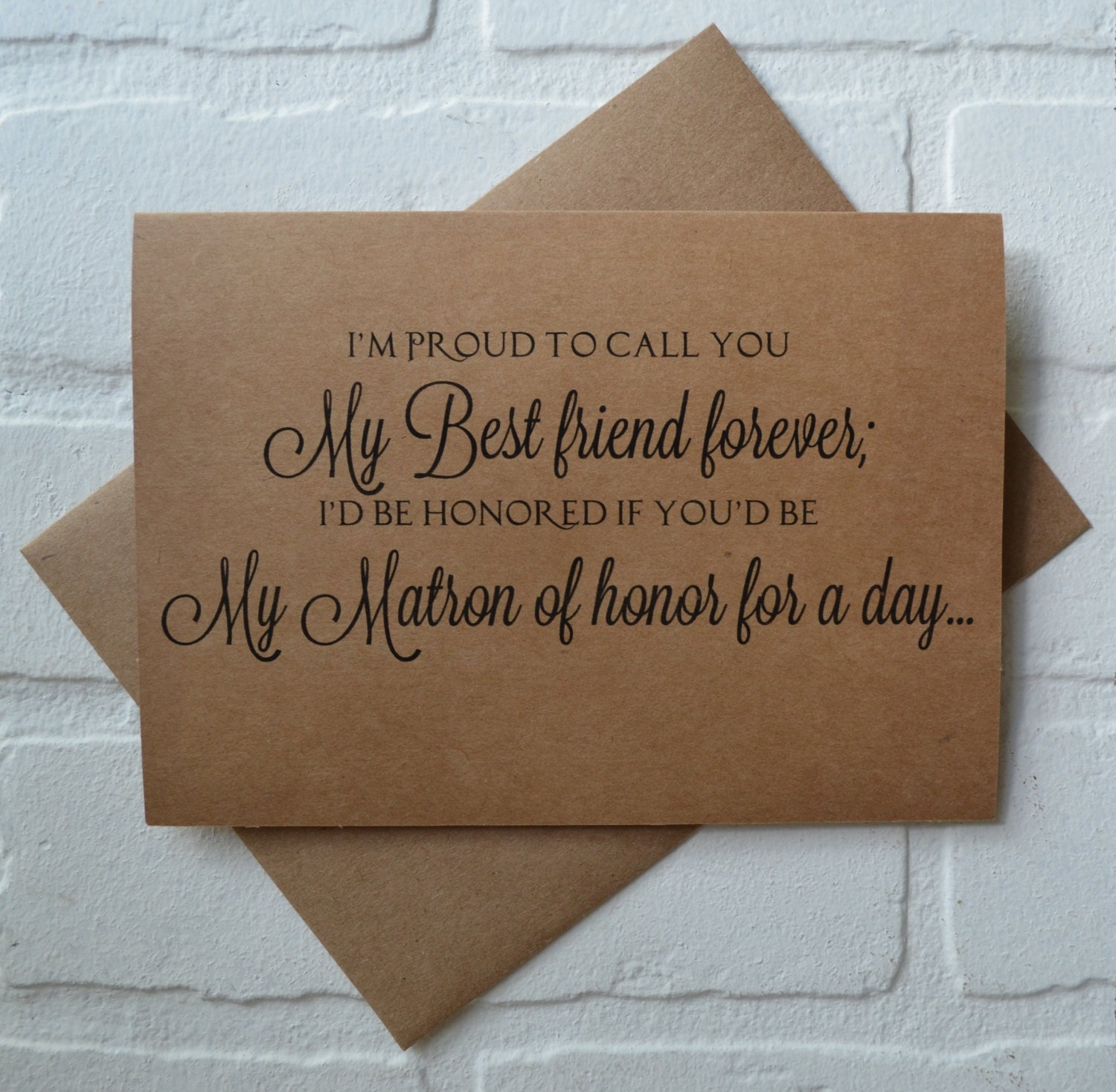 Best Friend Call Quotes: Im PROUD To Call You My BEST Friend By Invitesbythisandthat