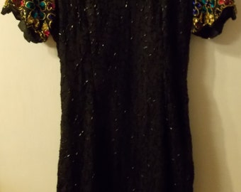 STENAY DRESS Sequin & Beads