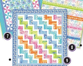 Easy as 7.8.9 PDFDOWNLOAD quilt pattern