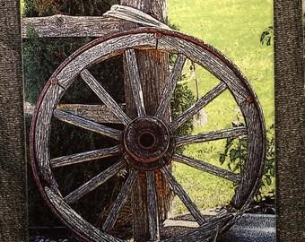 wagon wheel decor etsy