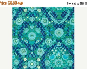 ON SALE Amy Butler Fabric - 1/2 Metre Garden Fete in Midnight / Violette ships from Australia