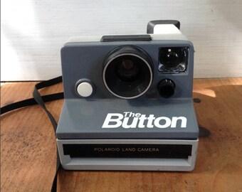 The Button Polaroid Camera - Instant Film Camera
