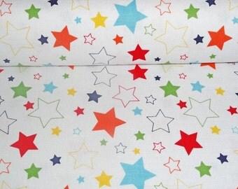 0,5 x 1,12 m COTTON fabric Riley Blake COTTON STARS, 100% cotton