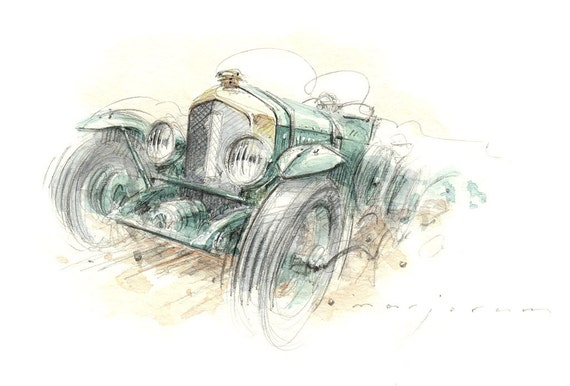 Bentley Limited Edition Print