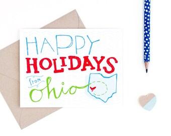 happy holidays from ohio