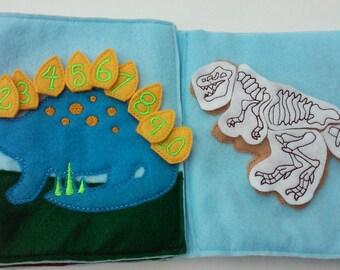 My Dino Quiet Book