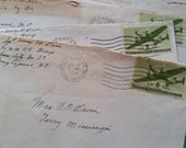 Authentic Vintage WWII Handwritten Letters to Mother | Correspondence with Covers | LAST ONES