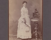 Sewell Cabinet Card of a Beautifully Dressed Graduate