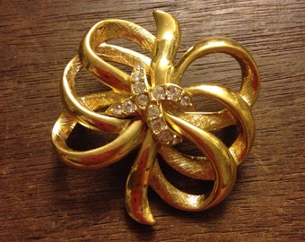 MONET Multi Bow Style Brooch/Pin