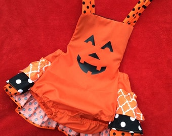 Happy Pumpkin Bubble outfit
