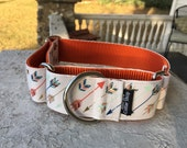 "Addie's Arrows 1.5"" Martingale Collar"
