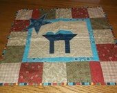 "Nativity Scene Wall Hanging, made of ""quilt shop"" quality fabric."
