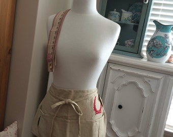 SALE - French General Craft Apron