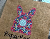 Easter Yard Flag - Bunny with tail - Multi-Color Yard Decor - Yard Flags - Easter Flags - Easter Bunny Yard Flags - Easter Decorations