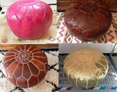 Set of any 2 different COLORS poufs in the shop