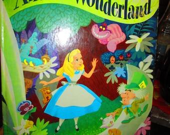 Vintage 70's Alice in Wonderland Storybook