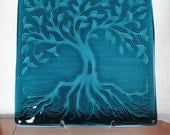 Tree of Life --- Kiln formed glass