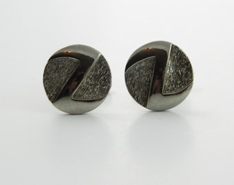 Silver Z Cuff Links - CL018