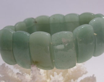 Dyed Green Quartz Stretch Bracelet