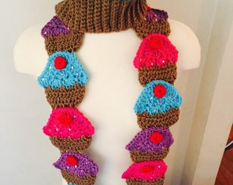 Cupcake Hat and/or Scarf