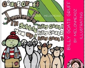 Billy Goats Gruff clip art
