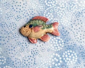 Colorful Fish - Porcelain Tile