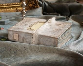 Wedding Guest Book, Marie Antoinette, Photo album, Shabby Chic Wedding, Custom Wedding Photo Booth album