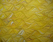 "Hand-Marbled Paper - Lemon yellows, browns: ""Lemony"". For Framing, book endpapers, paper arts, collage, bookbinding."