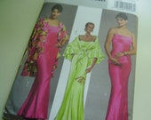 Butterick 4733 Wrap and Dress Sewing Pattern, Size 16-18-20-22